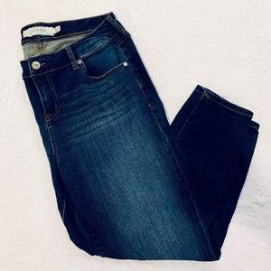 Torrid Girlfriend Dark Wash Jeans Size 12S
